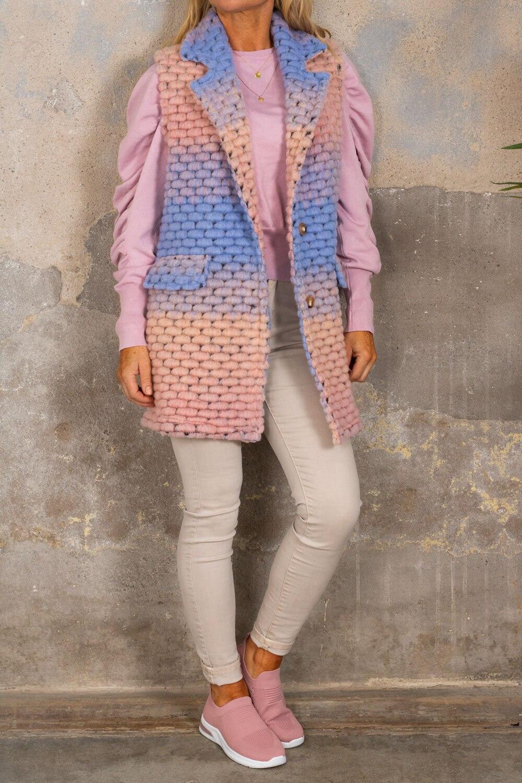 Athena West - Light pink / Blue