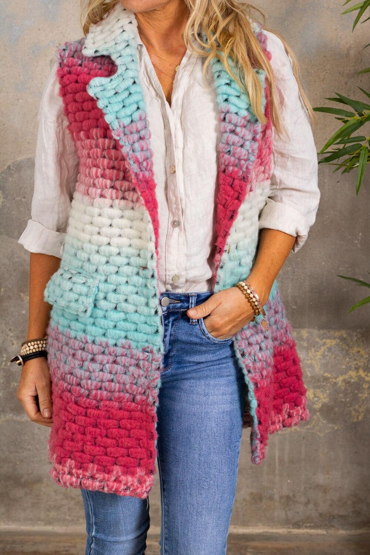 Athena West - Pink / Turquoise