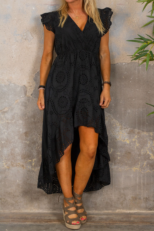 Hanna Lace Dress - Black
