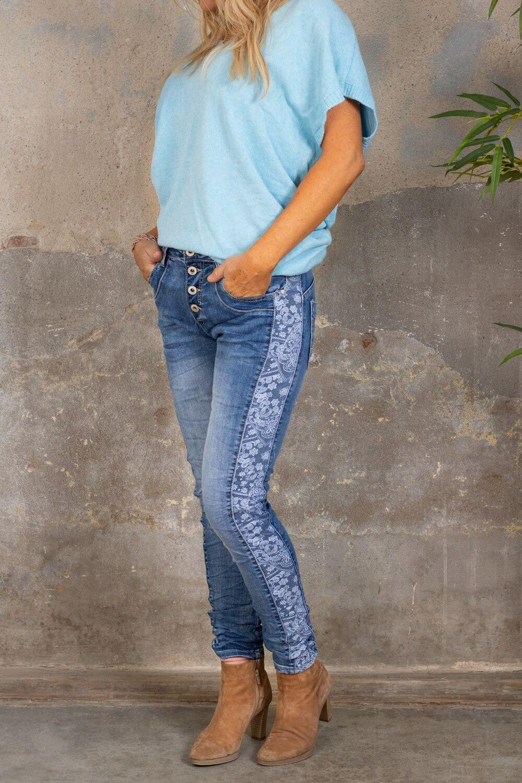 Jeans 98238 - Paisley - Denim