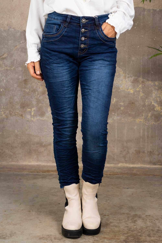 Jeans JW7071 - Buttons - Denim