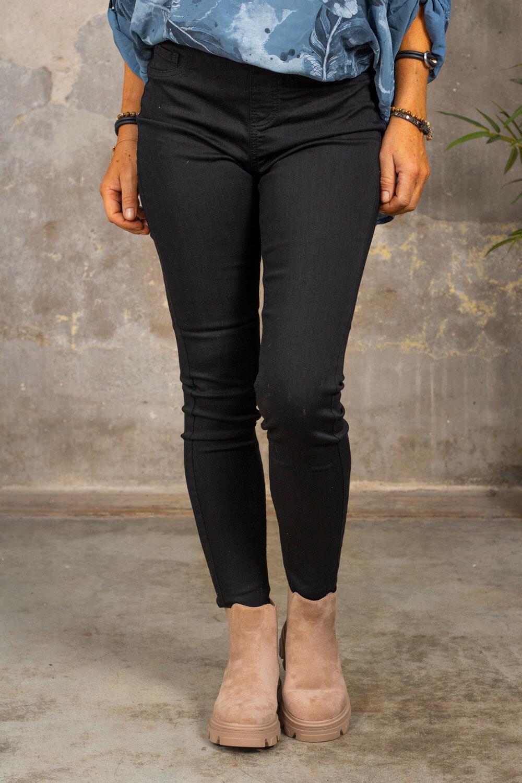 Jeans leggings 17177 - Black