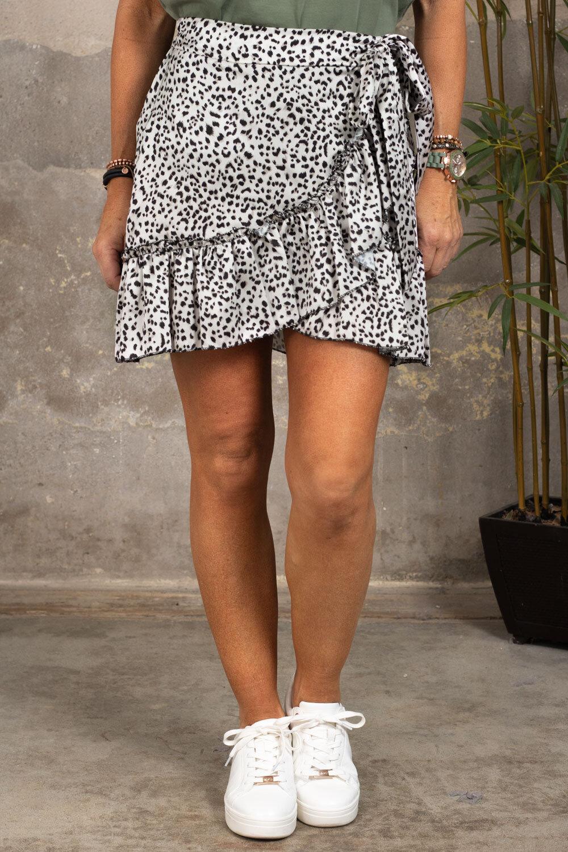 Wrap skirt - Leo - Beige