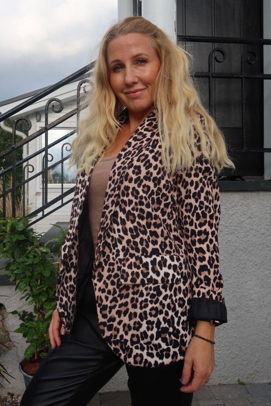 Jacket - Leopard pattern