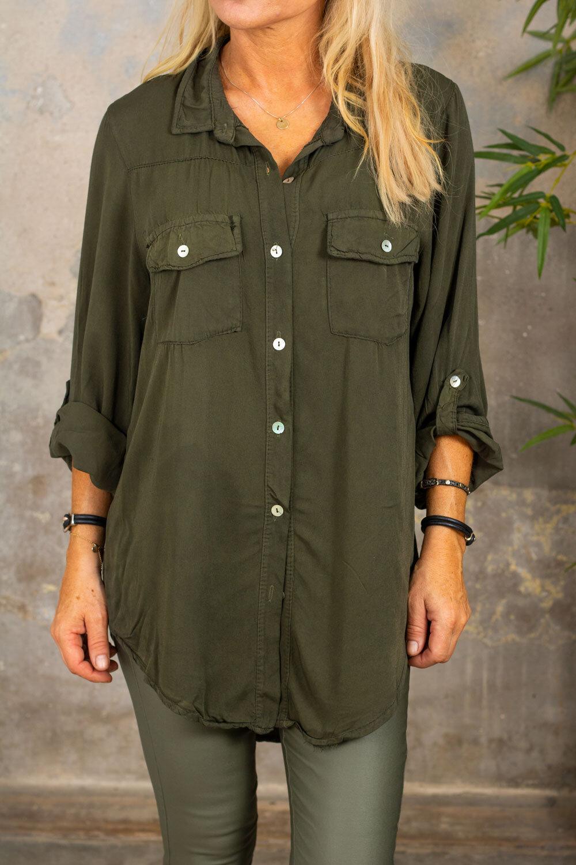 Luna shirt - Army green