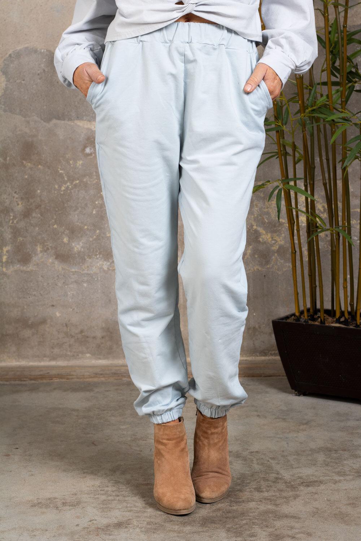 Soft pants 2502 - Light blue