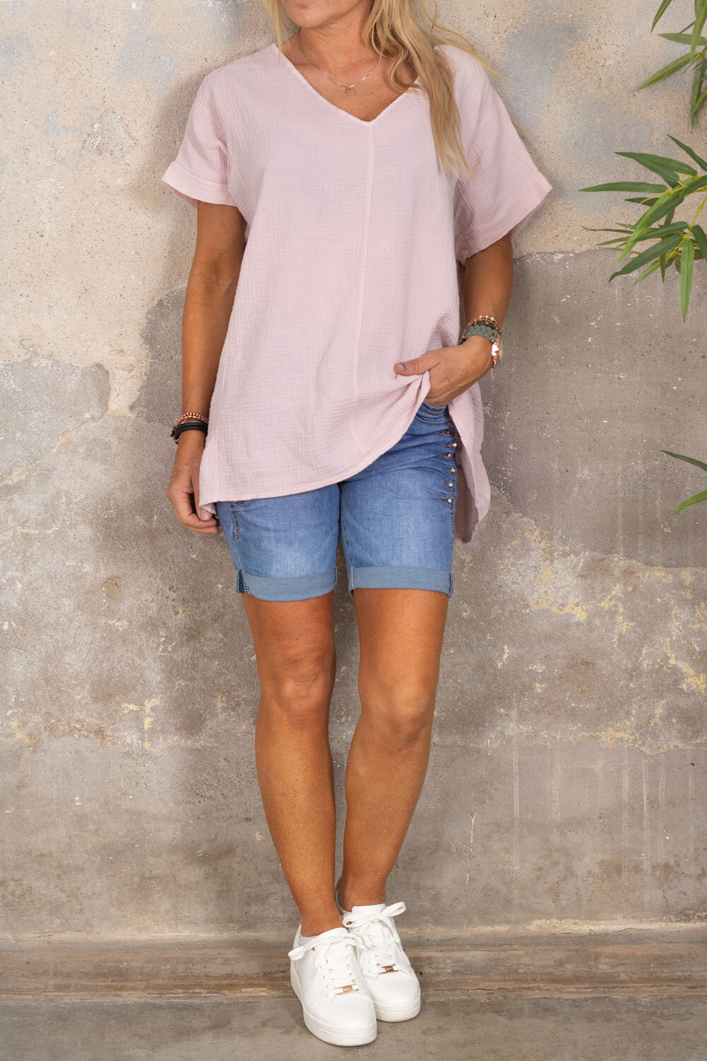 Ninni - Oversize top - Old pink