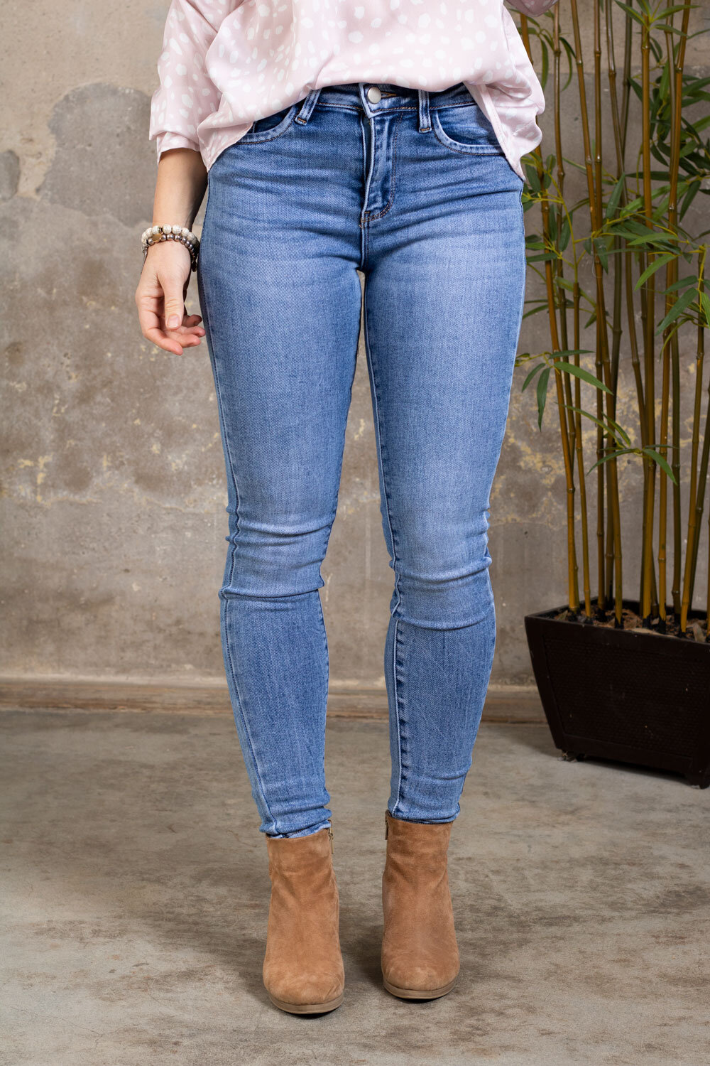 Push-up jeans - RD6800 - Light wash
