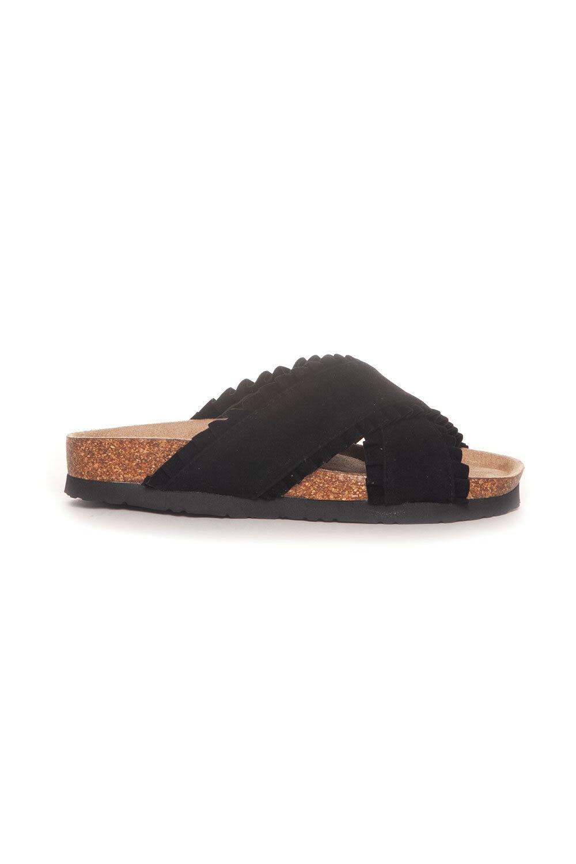 Sandal Ruffles - Black