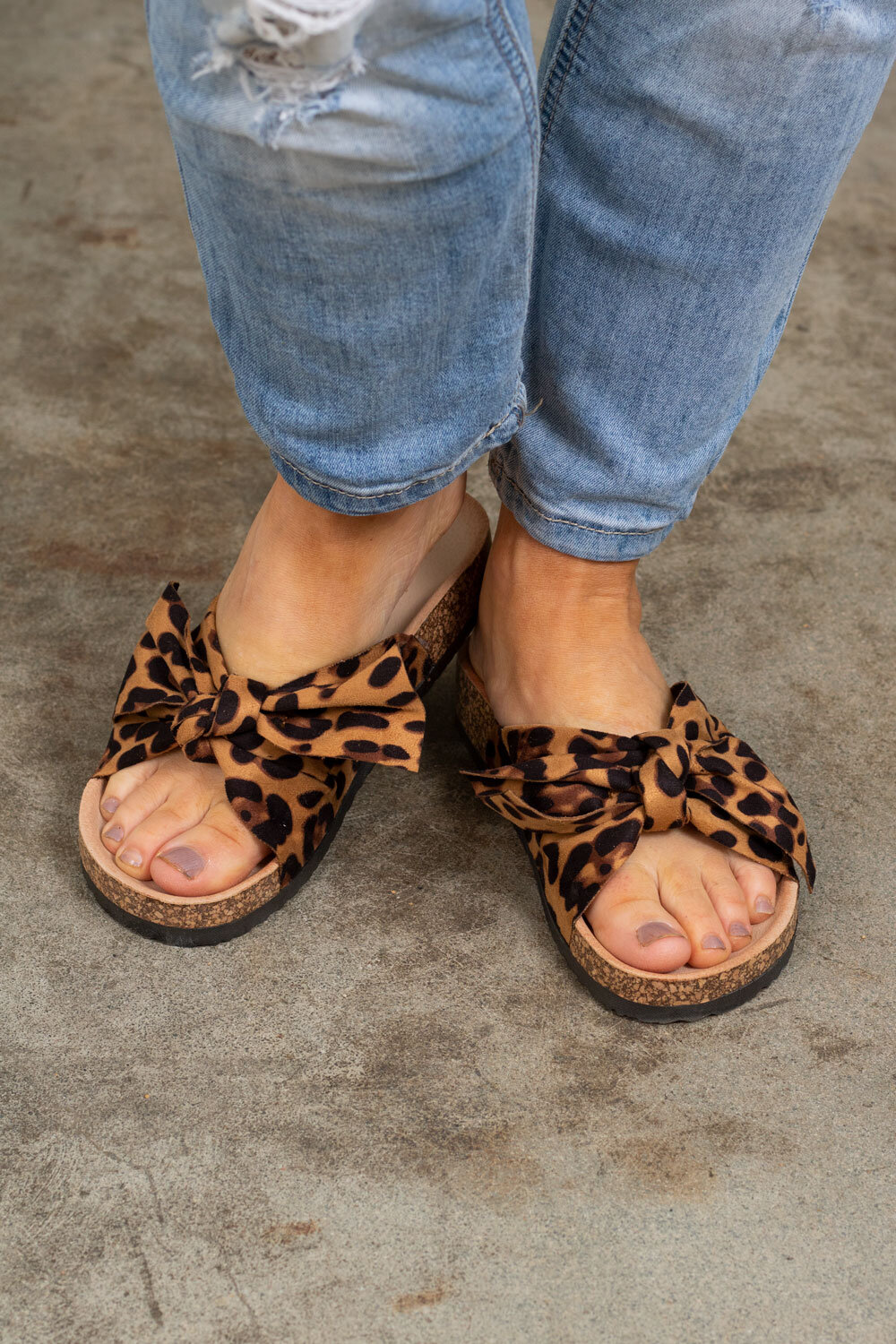 Sandals with Bow - 231 - Leo