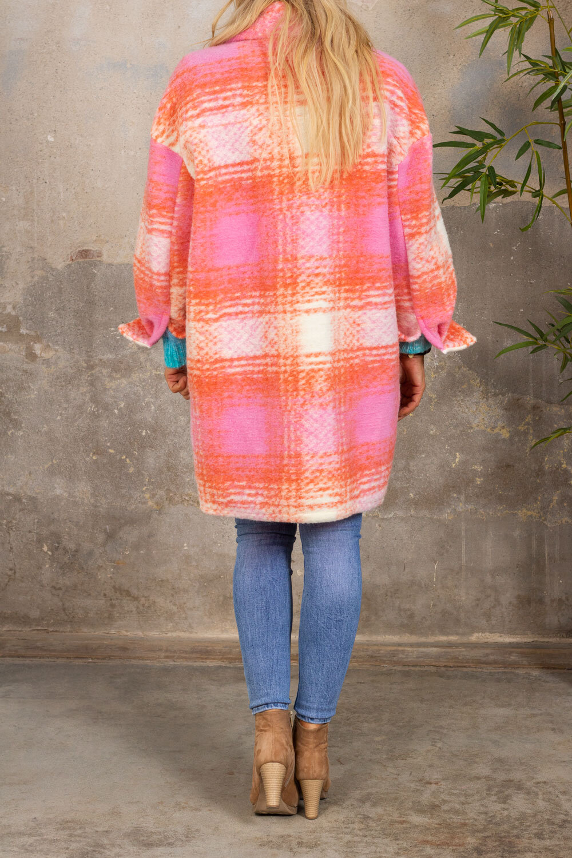 Shirt jacket - Corall/Rosa