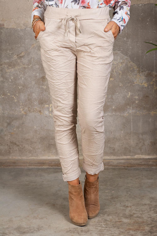 Stretchiga trousers 2245 - Beige