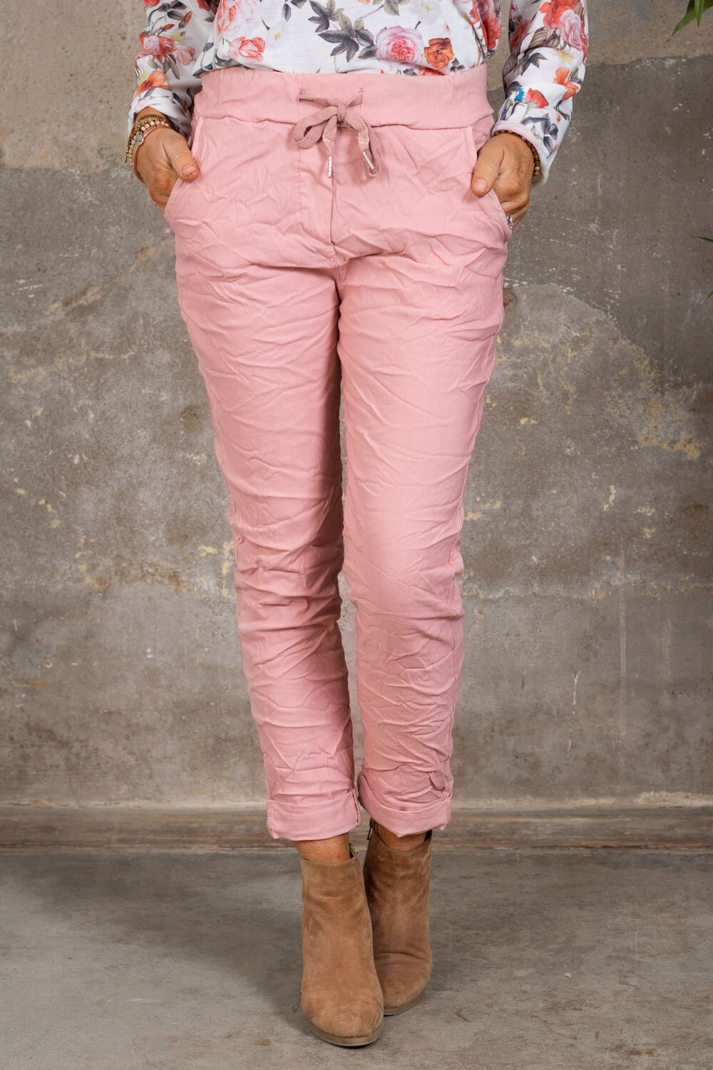 Stretchiga trousers 2245 - Pink