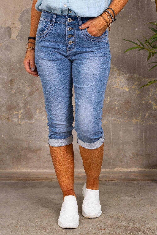 Three-Quarter Jeans  PC2634 - Light wash
