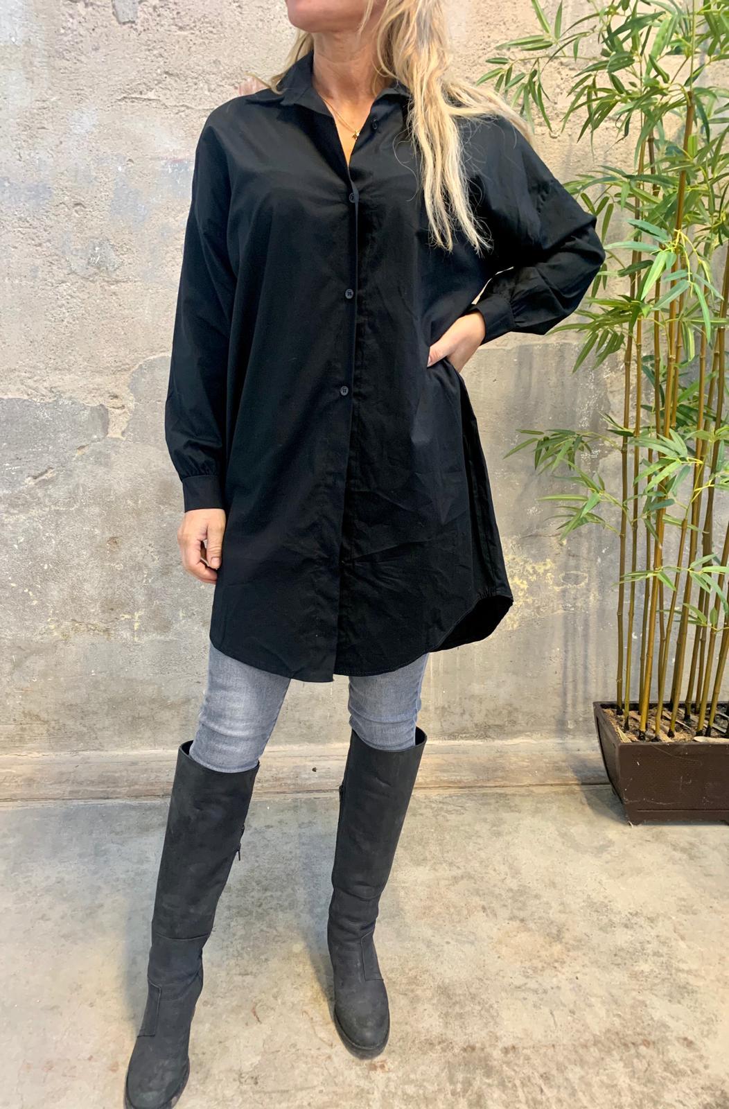 alicia-langskjorta-svart