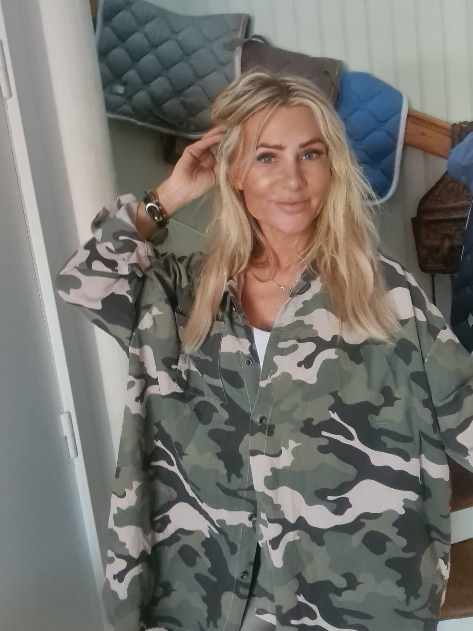 Leslie Manchester shirt - Camouflage - Khaki